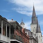 A view from Bourbon Street by broerse1