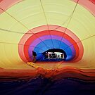 Inside View of Hot Air Balloon by Ronald Rockman