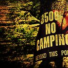 No Camping by AdamKnauer