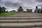 Shrine of Remembrance, Melbourne by rjcolby