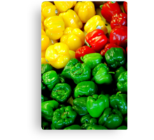 Peppering Canvas Print