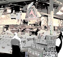 Pike Place Market  by MrJakk