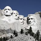 Mount Rushmore, South Dakota by Vivek Bakshi