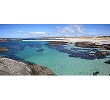 Sanna Bay on the Ardnamurchan Peninsula. Photographic Print