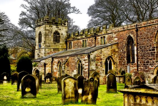 St Peters Church - Croft-on-Tees . by Trevor Kersley