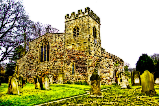 St Peters Church - Croft-on-Tees .#2 by Trevor Kersley