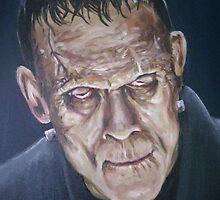 The Monster by StringbeanArt