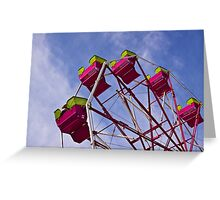 The Ferris Wheel-Endless Mountains Maple Festival Greeting Card