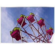 The Ferris Wheel-Endless Mountains Maple Festival Poster