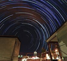 Southern Startrails by Ben Mattner