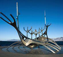 Viking longboat - Reykjavik, Iceland by andiperkins