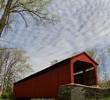 Poole Forge Covered Bridge by Mark Van Scyoc