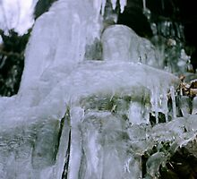 Icicles, brrrrrrr! by woodlandninja