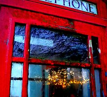 Telephone Box Sunset by Josephine Pugh