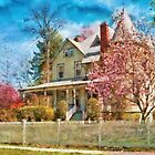House - A Victorian Springtime by Mike  Savad