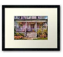 Porch - Grandmotherly love Framed Print