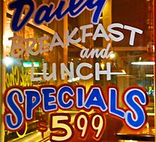 Daily Breakfast Specials by Elizabeth Hoskinson