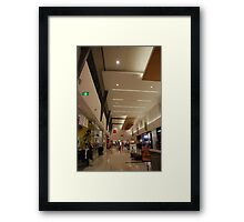 Escape the retail therapy trap Framed Print
