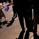 The Australian Flag   Anzac Day by RONI PHOTOGRAPHY