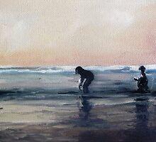 Moonlight Fishing by Diko