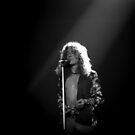 Robert Plant by Mike Norton