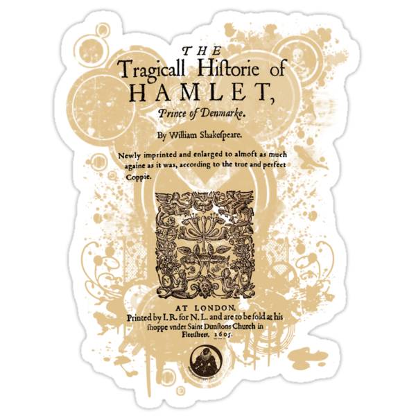 Shakespeare's Hamlet Front Piece by Sally McLean