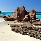 The Beach rocks by Dan Bish