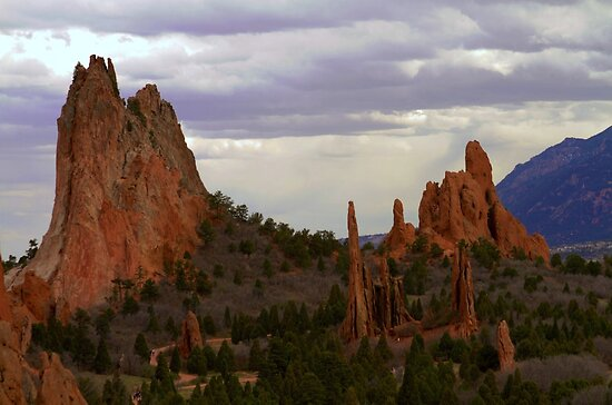 Garden of the Gods (Gloomy) by Carl M. Moore