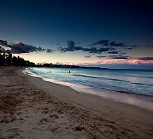 Manly Beach At Dusk by MiImages