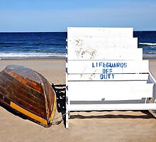 Lifeguards Off Duty by joAnn lense