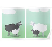 Racist Sheep Poster