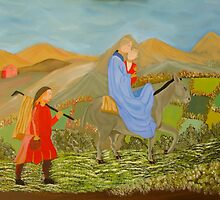 The flight into Egypt by mikeloughlin