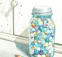 Marble Jar by Katherine Thomas