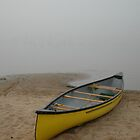 Canoe at Rock lake Algonquin park by creativegenious