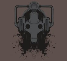 Dr. Who Cyberman T-shirt by J. William Grantham
