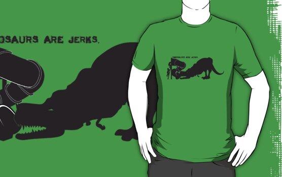 Dinosaurs are [JERKS] - Slide by evilcheez