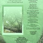 Medium Tall Poster Ancient Trees in Prayer- A Poetic Reminder to Rest upon the Great Rock - The Lord Jesus Christ Himself by bronspst