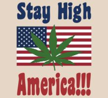 Stay High America!!! by Kyle Bustamante
