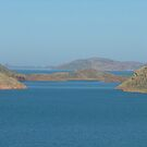 Into the Blue. Lake Argyle, near Kununurra. WA. by lib225