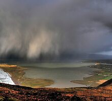 Rain Above Rossbeigh by Hauke Steinberg