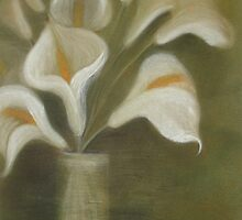 Calla's In A Vase by taiche