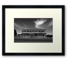 The Good 'ol Wilmo Hotel Framed Print