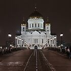 Cathedral of Christ the Saviour, Moscow by offwhitedog