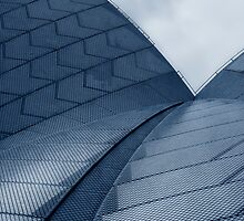 Sydney Opera House Roof by JoshuaStanley