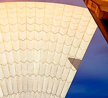 Triangle Shadow, Sydney Opera House by JoshuaStanley