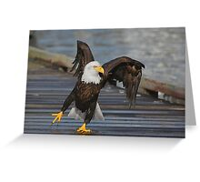 Put Your Right Foot In........ Greeting Card