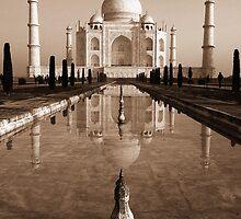 Taj Mahal by Brendan Buckley