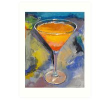 Mango Martini Painting Art Print