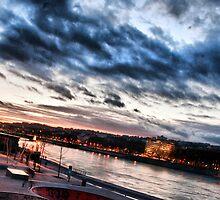 quais du Rhône, Lyon by Antti Andersson