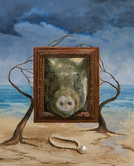 Chinese Zodiac - Pig by Colleen D. Gjefle